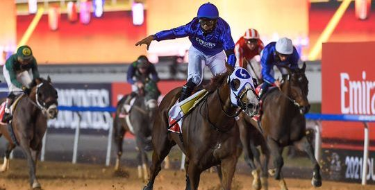 Mystic Guide leads the way in Dubai World Cup